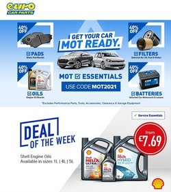 Cars, Motorcycles & Spares offers in the Euro Car Parts catalogue ( 1 day ago)