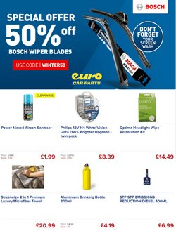 Euro Car Parts offers in the Euro Car Parts catalogue ( 7 days left)