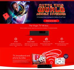 TV offers in the Virgin Media catalogue in London