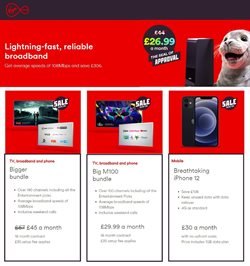 Virgin Media catalogue ( 2 days ago )