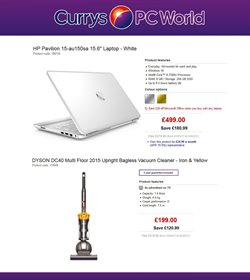 Computer offers in the PC World catalogue in Birmingham