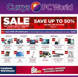 Computer offers in the PC World catalogue in York