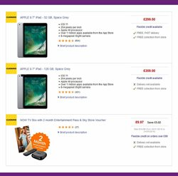 TV offers in the PC World catalogue in Aldershot