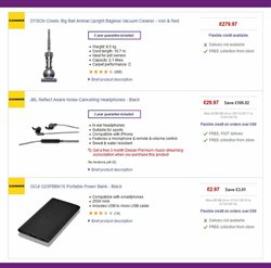 IPhone offers in the PC World catalogue in London