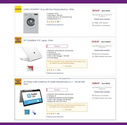 Washing machine offers in the PC World catalogue in Royal Leamington Spa