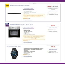 Wireless offers in the PC World catalogue in London