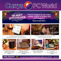 Electricals offers in the PC World catalogue in Hammersmith