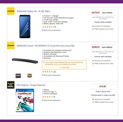 Mobile phones offers in the PC World catalogue in Aberdeen