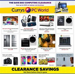 PC World offers in the Sheffield catalogue