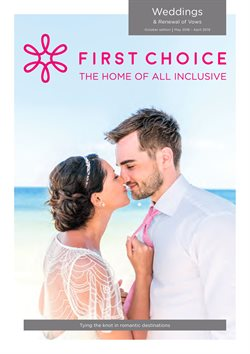 Travel offers in the First Choice catalogue in Worthing