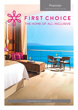 Travel offers in the First Choice catalogue in Runcorn