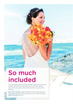 Flights offers in the First Choice catalogue in Royal Leamington Spa