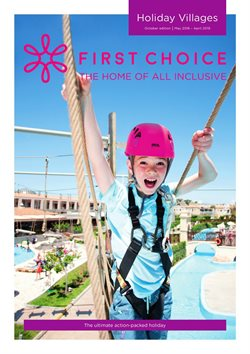 Travel offers in the First Choice catalogue in Glasgow