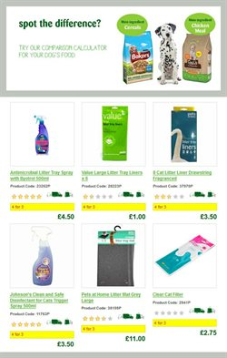 Calculator offers in the Pets at Home catalogue in London