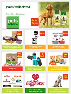 Pets at Home offers in the Liverpool catalogue