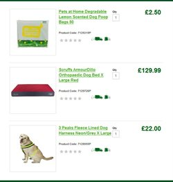 Bags offers in the Pets at Home catalogue in Kettering