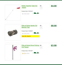 Fishing offers in the Pets at Home catalogue in London