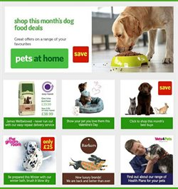 Pets at Home offers in the Birkenhead catalogue