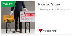Vistaprint offers in the London catalogue