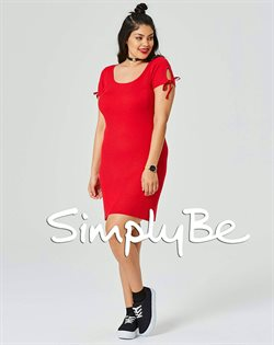Knitted  dress offers in the Simply Be catalogue in London