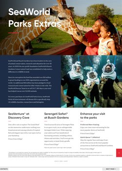 Safari offers in the Virgin Holidays catalogue in London