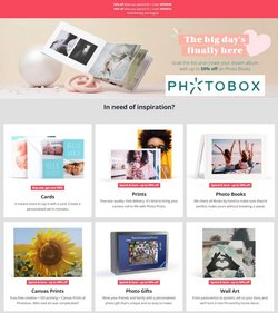 Books & Stationery offers in the Photobox catalogue ( 25 days left)