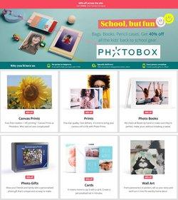 Photobox offers in the Photobox catalogue ( 8 days left)