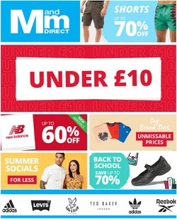 M and M Direct offers in the M and M Direct catalogue ( 1 day ago)