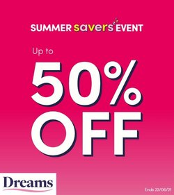 Dreams offers in the Dreams catalogue ( Expires today)