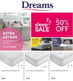 Dreams offers in the Dreams catalogue ( 15 days left)