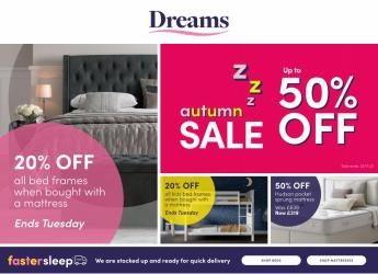 Home & Furniture offers in the Dreams catalogue ( Published today)