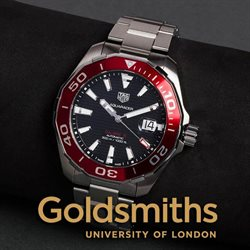 Goldsmiths offers in the Leicester catalogue