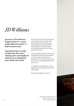 Christmas offers in the JD Williams catalogue in Worthing