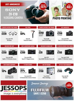 Electronics offers in the Jessops catalogue ( Published today)