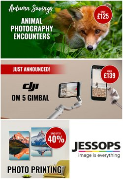 Electronics offers in the Jessops catalogue ( 12 days left)