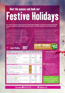 HF Holidays offers in the London catalogue