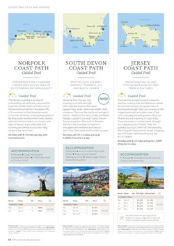 Flights offers in the HF Holidays catalogue in London