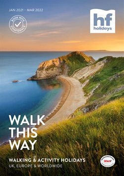 Travel offers in the HF Holidays catalogue ( More than a month )