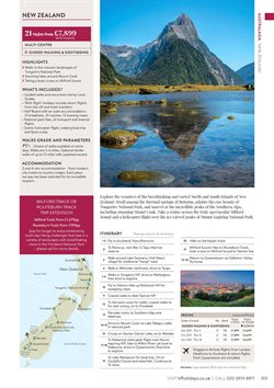 Offers of New Zealand in HF Holidays