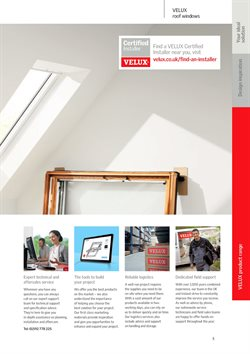 Tools offers in the Velux catalogue in Belfast