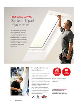Matches offers in the Velux catalogue in Darlington