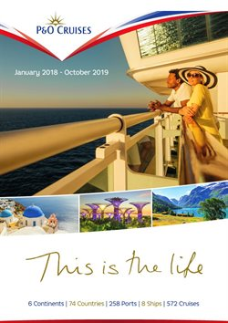 P&O Cruises offers in the London catalogue