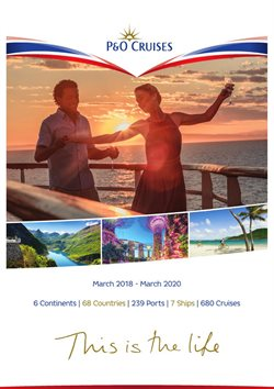 Cruises offers in the P&O Cruises catalogue in London