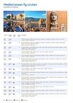 Crete offers in the P&O Cruises catalogue in London