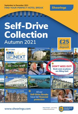 Travel offers in the Shearings catalogue ( More than a month)