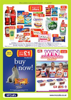 Top offers in the McColl's catalogue in London