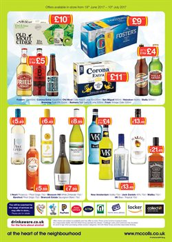Cider offers in the McColl's catalogue in London