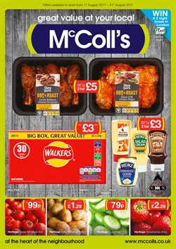 McColl's offers in the Coleraine catalogue