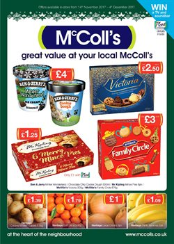 McColl's offers in the London catalogue