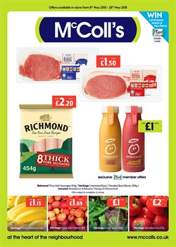 McColl's offers in the Bristol catalogue